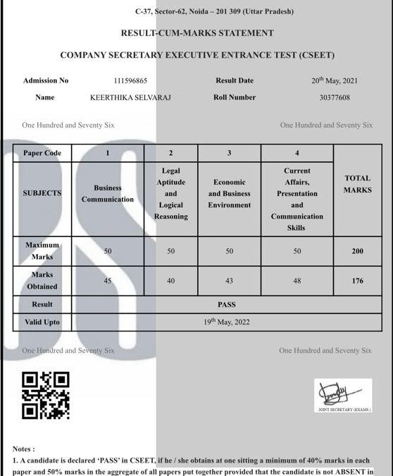ARA EDUCATION Cseet May 8th 2021 highest score 176/200,155/200,Breaks Records.