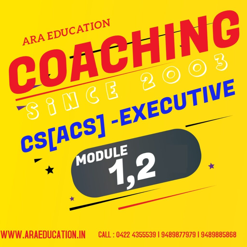 Best NO 1 CS Executive Coaching Classes Admissions Opened