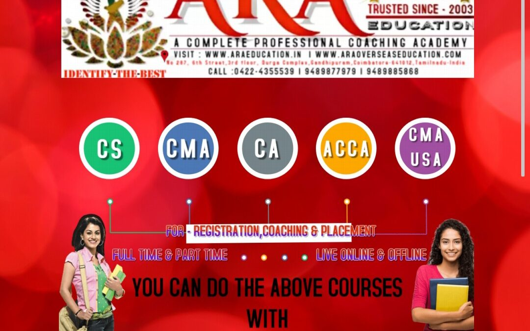 BEST NO 1 PROFESSIONAL INSTITUTE-ARA EDUCATION