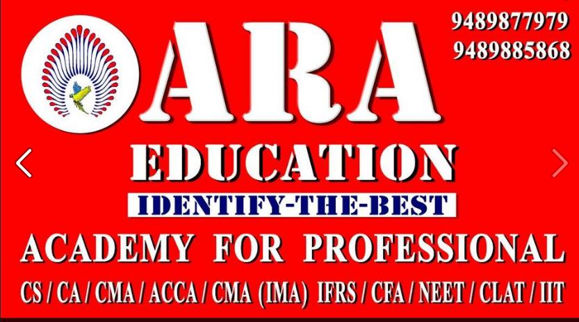 Excellent No 1 Coaching for CSEET-Ara Education