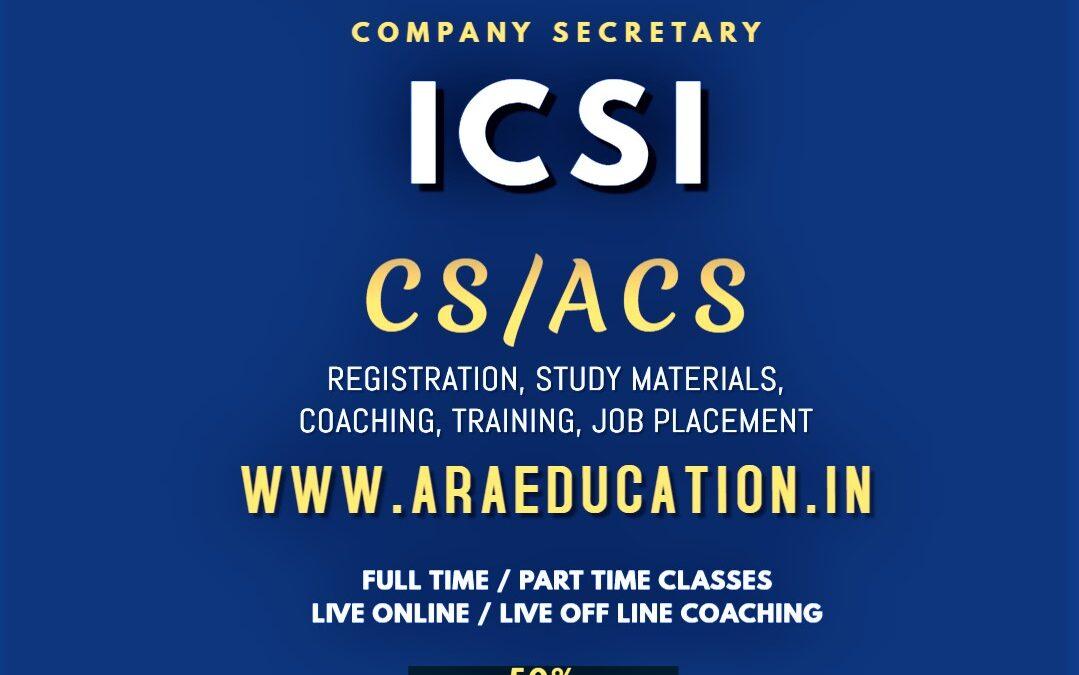 Best No 1 CSEET CS Coaching in Coimbatore TamilNadu