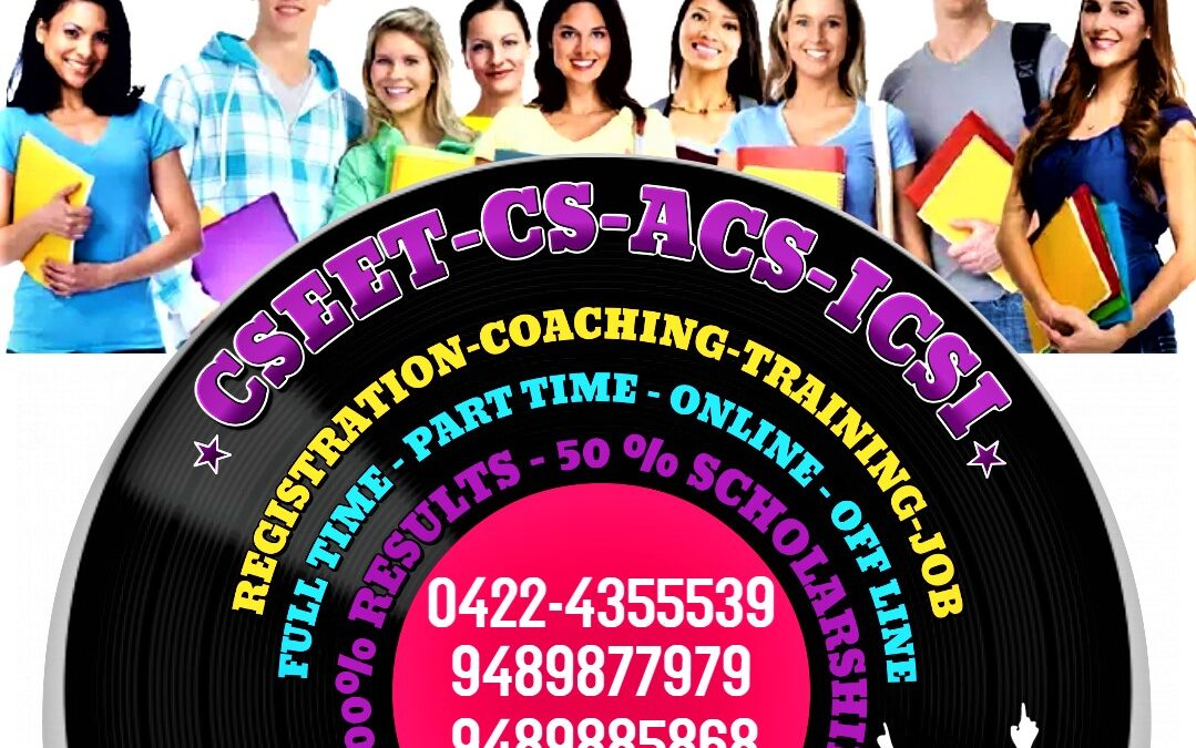 Register Free for CSEET By Joining No 1 Institute